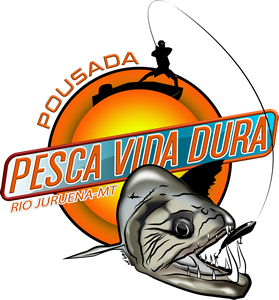Pousada de Pesca Vida Dura Logotipo